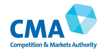 The Competition and Markets Authority (CMA) logo