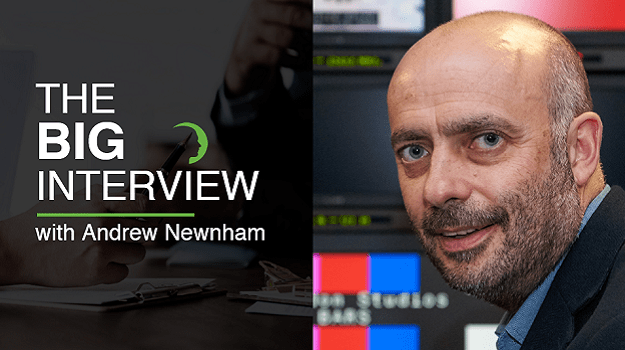 The Big Interview with Andrew Newnham - Director of Group Procurement and Business Efficiency at ITV
