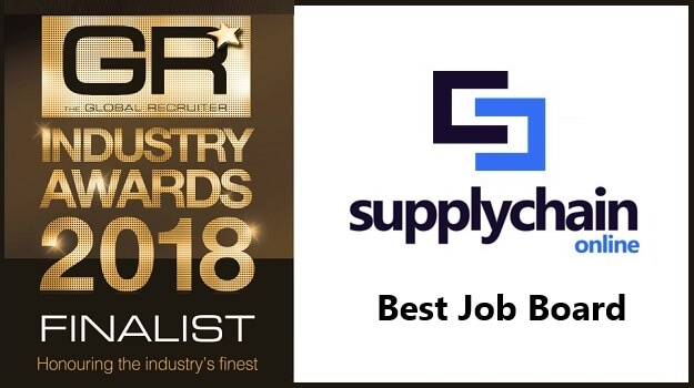 Supply Chain Online shortlisted for the Global Recruiter Awards 2018 as Best Job Board