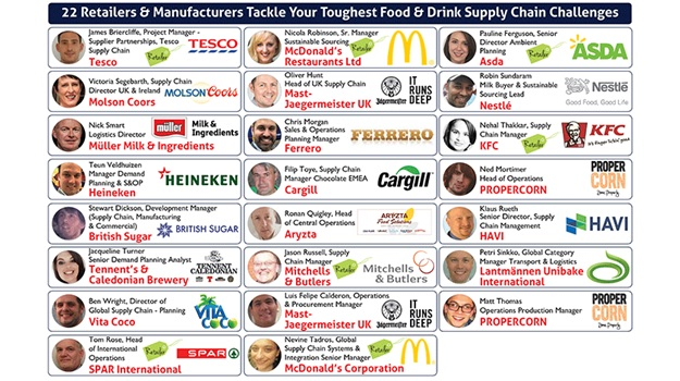 The Food & Drink Supply Chain Industry, 13th June 2017, The Millennium Mayfair, Central London.